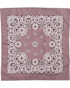 M & F Western Paisley Print Bandana , No Color, hi-res