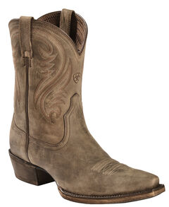 Ariat Brown Willow Short Cowgirl Boots - Snip Toe, , hi-res