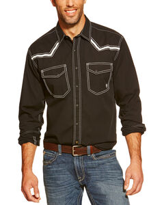 Ariat Men's Retro Clint Long Sleeve Snap Western Shirt, , hi-res