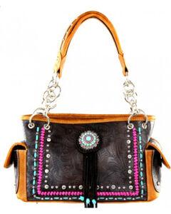 Montana West Concho Collection Handbag, , hi-res