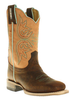 Cinch Boys' Mad Dog Western Boots - Square Toe, , hi-res
