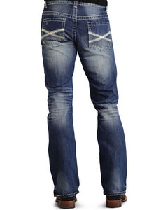 Stetson Rock Fit Bold X Stitched Jeans - Big & Tall, , hi-res