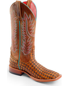 Anderson Bean Boots Macie Bean Unbeweavable Cowgirl Boots - Square Toe, , hi-res
