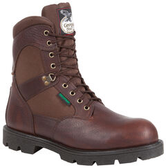 Georgia Homeland Waterproof Work Boots - Round Toe, , hi-res