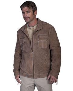 Scully Zip Front Vintage Suede Jacket, , hi-res