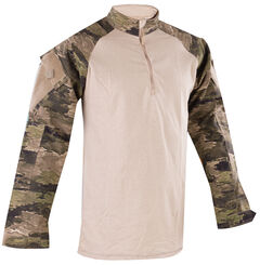 Tru-Spec Men's Camo Urban Force 1/4 Zip TRU Shirt , , hi-res