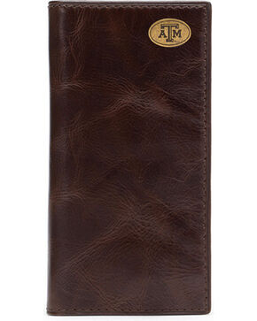 Jack Mason Men's Texas A&M Legacy Tall Wallet , Brown, hi-res