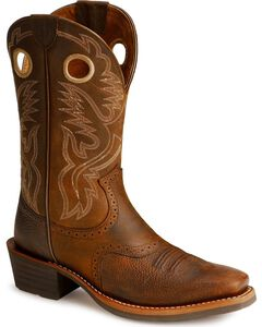 Ariat Heritage Rough Stock Cowboy Boots - Square Toe, , hi-res