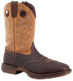 Durango Rebel Waterproof Western Boot - Steel Toe, , hi-res