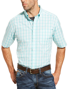 Ariat Men's Multi Short Sleeve Mattingly Shirt , Multi, hi-res