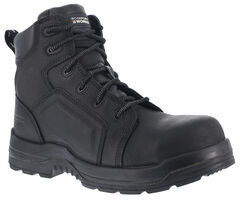 "Rockport Works Women's More Energy Waterproof 6"" Lace-Up Work Boots - Composition Toe, , hi-res"