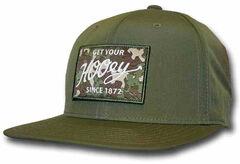 HOOey Men's Green Ripcord Adjustable Hat  , , hi-res