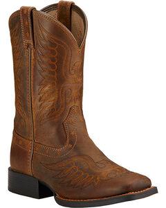 Ariat Boys' Honor Cowboy Boots - Square Toe , , hi-res