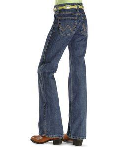 Girls' Wrangler Ultimate Riding Jeans - Reg/Slim 7-14, , hi-res