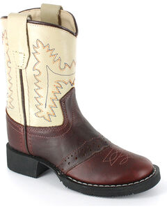 Cody James Boys' Roper Western Boots - Round Toe, , hi-res