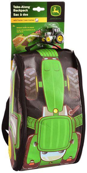 John Deere Tractor & Playmat Backpack, Green, hi-res