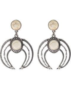 Shyanne Women's Moonlight Engraved Earrings, , hi-res
