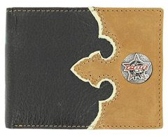 PBR Concho Leather Billfold, , hi-res