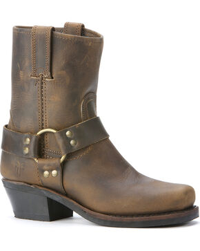 Frye Women's Harness 8R Boots, Brown, hi-res