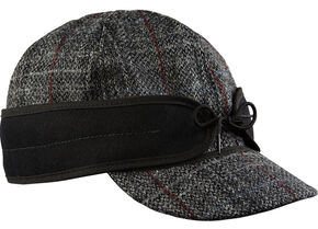 Stormy Kromer Men's Harris Tweed Original Cap, Multi, hi-res