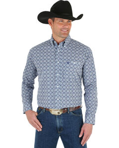 Wrangler George Strait Men's Medallion Shirt, , hi-res