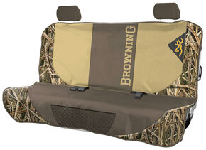 Browning Camouflage Bench Pet Seat Cover  , Camouflage, hi-res
