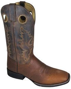 Smoky Mountain Men's Luke Cowboy Boots - Square Toe, , hi-res