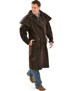 Outback Trading Co. Long Oilskin Duster, , hi-res