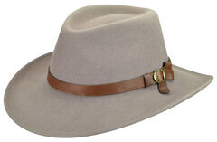 Bailey Men's Eustace Wool Felt Outback Hat, , hi-res