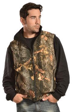 Gibson Trading Co. Men's Camo vest, , hi-res