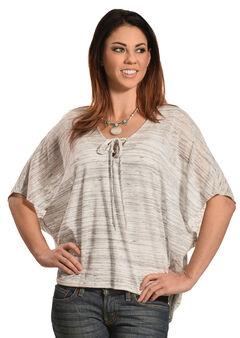 Petrol Women's Short Sleeve Poncho, , hi-res