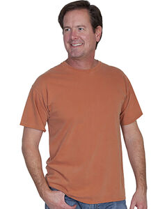 Scully Men's Red Basic Crew Neck T-Shirt, , hi-res