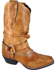 Smoky Mountain Avalon Slouch Cowgirl Boots - Square Toe, , hi-res