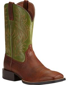Ariat Men's Sport Western Cowboy Boots - Square Toe, , hi-res