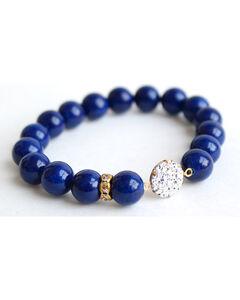 Everlasting Joy Women's Navy Riverstone Sparkle Bracelet, , hi-res