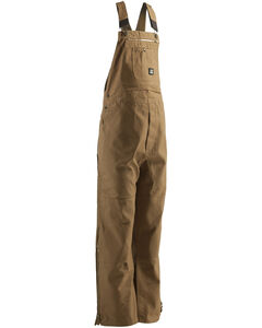 Berne Men's Original Unlined Duck Bib Overalls - BigX, , hi-res
