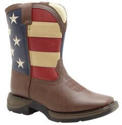 Durango Boys' American Flag Western Boots, , hi-res