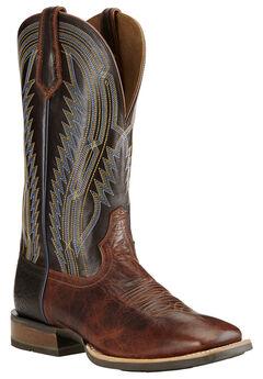 Ariat Men's Chute Boss Caliche Cowboy Boots - Square Toe, , hi-res