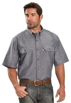Carhartt Fort Short Sleeve Work Shirt, , hi-res