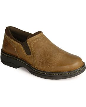 Ariat Loden Slip-On Shoes, Pecan, hi-res