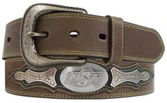 Oklahoma State University Concho Overlay College Belt, , hi-res