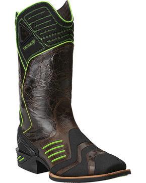 Ariat Catalyst VX Green Cowboy Boots - Square Toe, Brown, hi-res