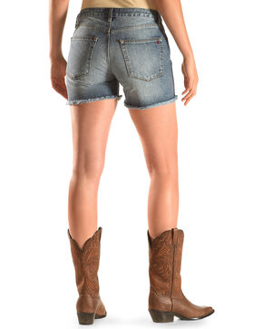MM Vintage Indigo  Boyfriend Shorts, Indigo, hi-res