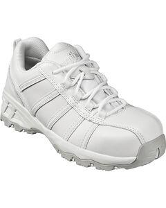 Nautilus Women's White Metal Free Athletic Work Shoes - Composite Toe , , hi-res