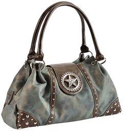 Blazin Roxx Blue Star Shoulder Bag, , hi-res