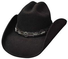 Bullhide PassThe Buck Wool Cowboy Hat, , hi-res