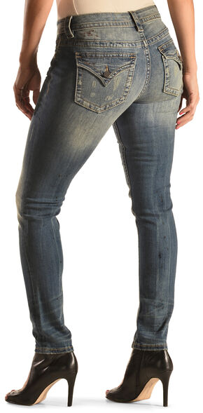 Miss Me Women's Simple Boundaries Skinny Jeans , Indigo, hi-res