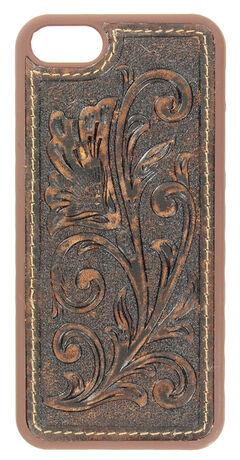 Nocona Tooled Leather iPhone 5 Phone Case, , hi-res