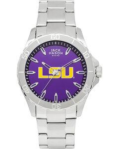 Jack Mason Men's LSU Tigers Team Color Dial Watch , , hi-res