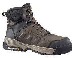 "Carhartt Men's 6"" Lace-Up Waterproof Work Boots, , hi-res"
